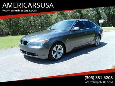 5-Series 525i Carfax certified Only 78k mi Excellent condit 2006 BMW 5 Series 525i Carfax certified Only 78k mi Excellent condit