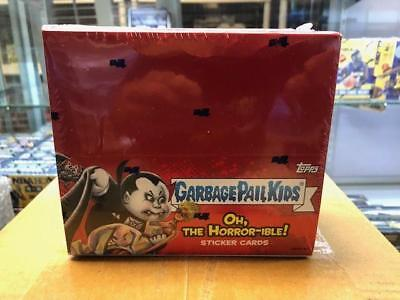 2018 Garbage Pail Kids S2 Oh The Horror-Ible 24 Pk Display Box