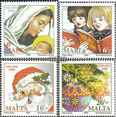 Malta 1105-1108 (complete issue) unmounted mint / never hinged 1999 christmas