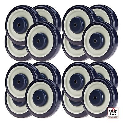 """Qty (16) - 5"""" Shopping Cart Wheels - Buggy 
