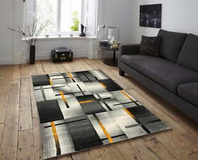 Extra Large Small Ochre Carpets Rugs Runners Mats Mustard Silver Grey Cheap Rugs
