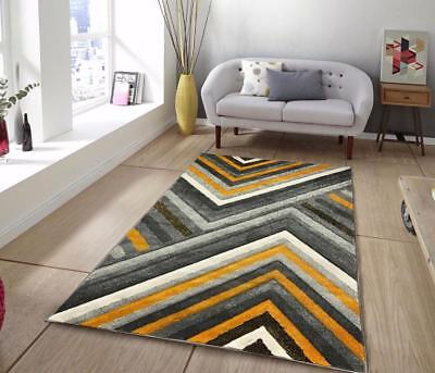 Extra Large Small Gold Mustard Ochre Grey Silver Rugs Runners Carpets Rug Mats