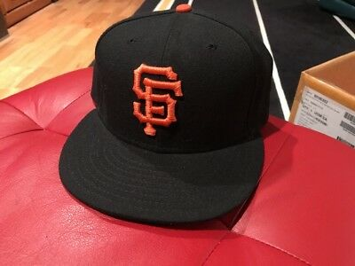 hot sale online 653a4 54eb6 ... low price nwot san francisco giants mlb 59fifty 5950 new era fitted hat  cap size 7