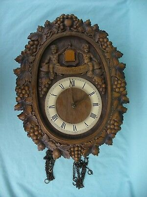Vintage West Germany Cuckoo Clock 1972 -E. Schmeckbecher Movement Needs Work
