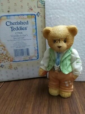 "Cherished Teddies - ""Grandpa Is God's Special Gift"" - #127906"
