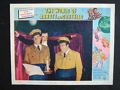 World Of Abbott And Costello '65 Bela Lugosi With Bud & Lou Near Mint Lc