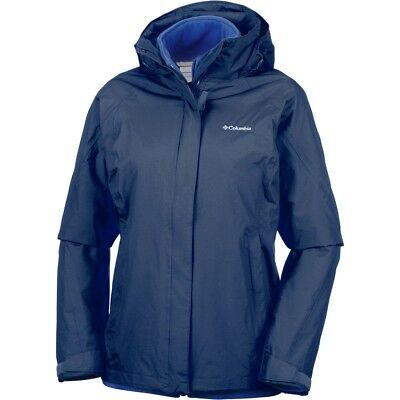 8a04d0ae492 Columbia Chaqueta Impermeable Insulada Mujer Venture On Interchange Jacket