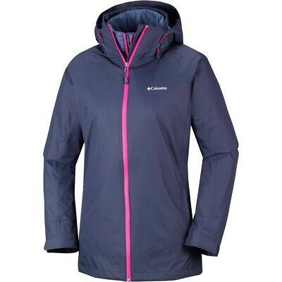 ae51a15859d COLUMBIA CHAQUETA IMPERMEABLE INSULADA MUJER On the Trail Interchange Jacket