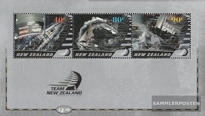 New Zealand block150 (complete issue) unmounted mint / never hinged 2003 Sailing
