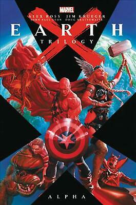 Earth X Trilogy Omnibus: Alpha by Jim Krueger Hardcover Book Free Shipping!