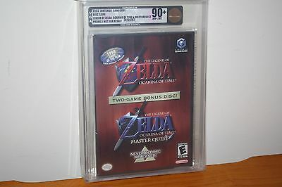 The Legend of Zelda: Ocarina of Time Master Quest (Gamecube) NEW SEALED VGA 90+!
