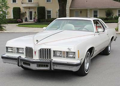 1977 Pontiac Grand Prix SJ MOONROOF COUPE - 400 V-8- 65K MILES RARE MOONROOF OPTIONED SURVIVOR -1977 Pontiac Grand Prix SJ - 65K MI