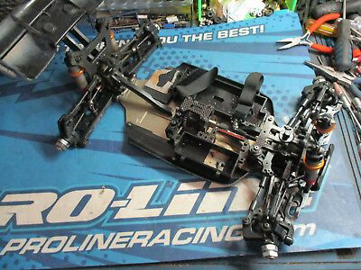 Intech Racing BR6, BR-6 1/8 buggy chassis, 2.0