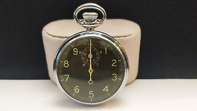 Waltham Type A-8 Stop Watch  Serial #AF -44-10033 WWII manufacture, issued 1951