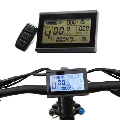 Lcd5 Control Panel Lcd Display Electric Bicycle Bike Parts For Kt Controller Electric Vehicle Parts Ebike 24v 36v 48v Intelligent Black Kt
