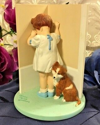 """Bessie Pease Gutmann """"in Disgrace"""" Figurine Collection By Danburry Mint 1992"""