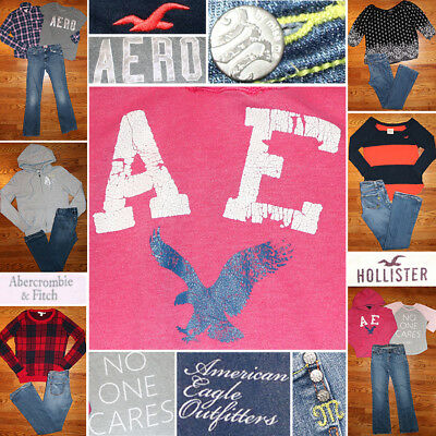 Girls Size 16, JR 0/1, S/M Fall Clothing Lot, Jeans, Tops, Hoodie, FREE SHIP!
