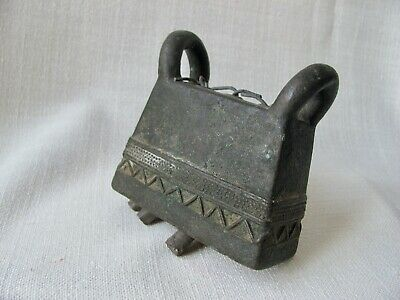 Antique Burmese Bronze Cow Bell