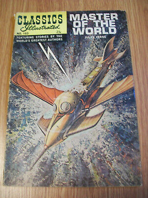 Classics Illustrated Master of the World Jules Verne #163