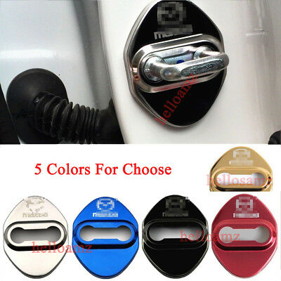 Stainless Steel Car Door Lock Protective Cover Sticker Styling Auto Accessories