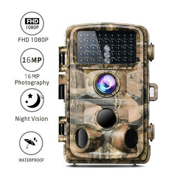 Campark Trail Game Camera 14MP HD 1080P Waterproof Hunting Scouting Wildlife Cam