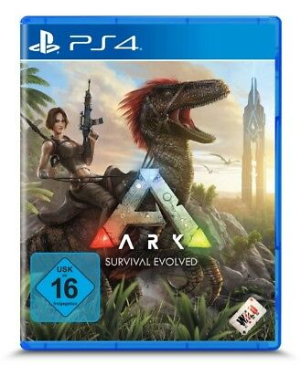 PS4 Game Ark: Survival Evolved DHL Express Delivery New