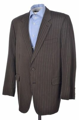 JACK VICTOR Prossimo Colorful Striped Cotton Mens Blazer Sport Coat Jacket 46 L