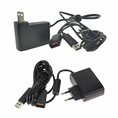 AC Adapter Power Supply Cord for Xbox 360 Kinect Sensor Converter Cable USB YO