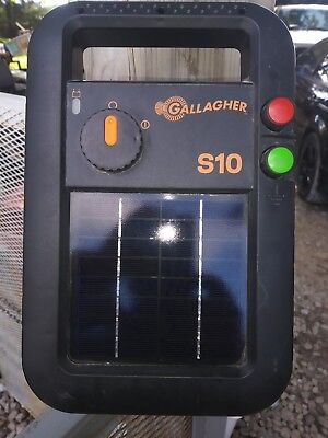 Gallagher S10 0.1 Joule Solar Fence Charger Brand NEW (UNUSED)