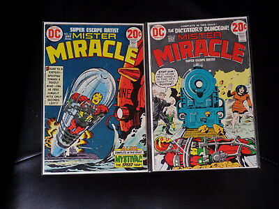Mister Miracle Two Issue Lot #'s 12 and 13 — Fine — No Reserve