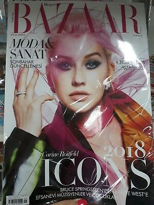 ** Haprpers Bazaar - Christina Aguilera - Icons 2018 Turkey Edition **