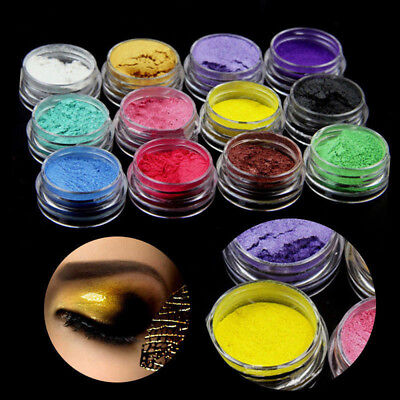 12 Color Natural Pigment Powder Resin Colorant Dye Set For Soap Making Cosmetics