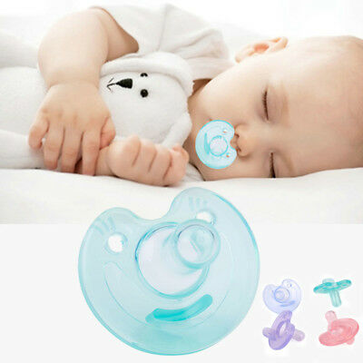 Newborn/Kids Baby Orthodontic Dummy Pacifier Infant Silicone Teat Nipple Soother
