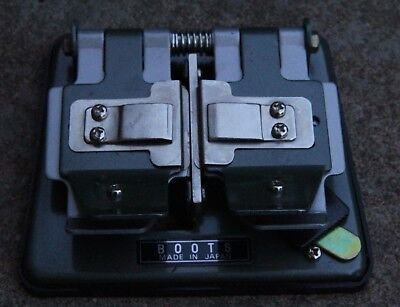 35mm Flim splicer/cutter/editing tool BOOTS - Made in Japan VGC
