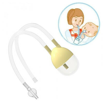 Nose Cleaner Vacuum Suction Safety Nasal Aspirator Baby Newborn Flu Protection