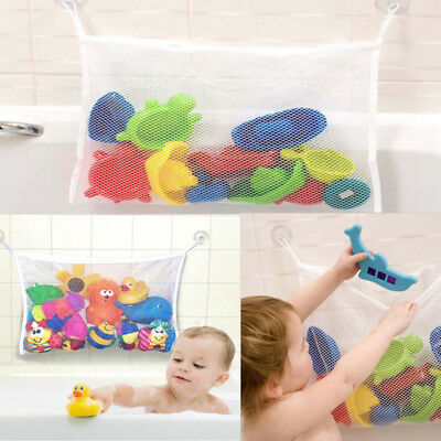 Baby Bath Toy Tidy Storage Net Suction Cup Bag Mesh Shower Organiser UK Stock
