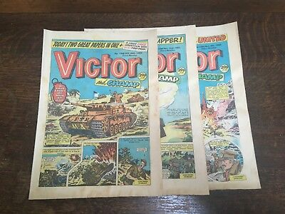 Victor Comic - Issues 1288 to 1290