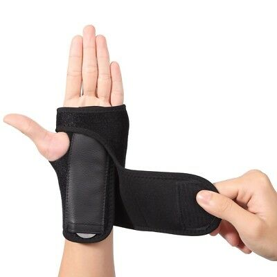 Carpal Tunnel Wrist Support Brace Removable Palm Splint Tendonitis Left Right