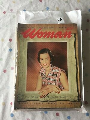 Job Lot of 1950's Woman Weekly Magazines
