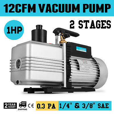 12CFM Vacuum Pump Double Stage vacuum packing Inlet port Ultimate Vacuum HOT