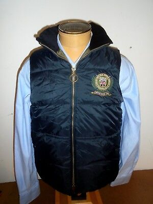 Barbour Polo Club Quilted Poly-Filled Vest NWT Large $279 Black