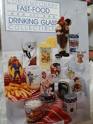 Fast Food Drinking Glass Collectible Book by Chase & Kelly