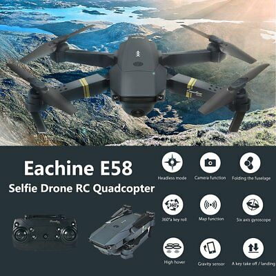 Mini Foldable Drone 0.3MP Camera Selfie WIFI FPV RC Quadcopter With 1 battery MB