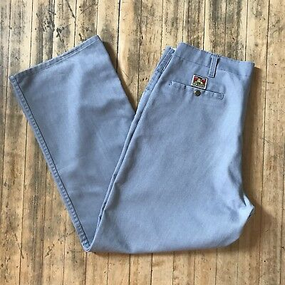Vtg Ben Davis Pants Gray 1990s - Size 38 x 31, Made in USA