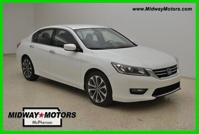 Honda Accord Sport 2015 Sport Used Certified 2.4L I4 16V Automatic FWD Sedan