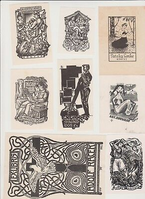 Lot of Ex libris Bookplate 1