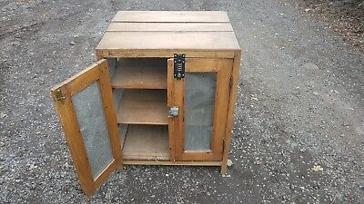 Old antique pine cupboard