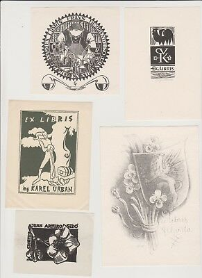 Lot of Ex libris Bookplate 17