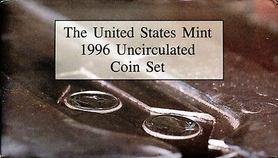Excellent 1996-P & D United States Mint Uncirculated Coin Set GR663