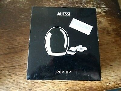Alessi Peroni Pop-up Bottle Cap Remover Stainless Steel  Brand New In Box
